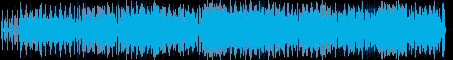 爽やかで感動的でファンキーなフュージョンの再生済みの波形