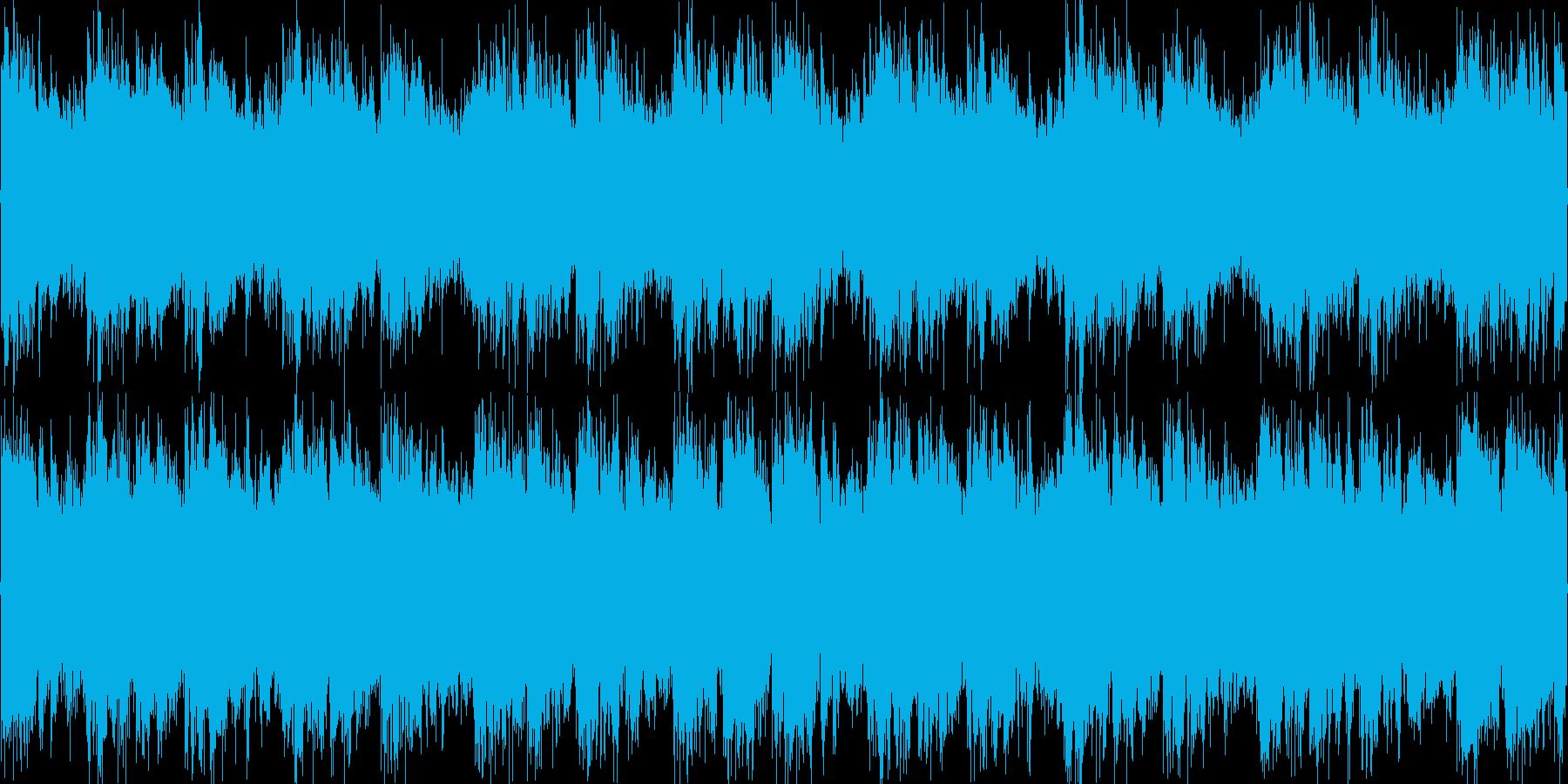 ロック_デジタル_切ない_2の再生済みの波形