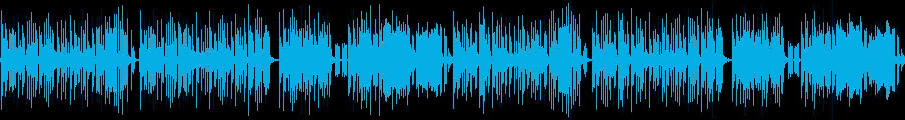 コミカルなハプニングで使える楽曲の再生済みの波形