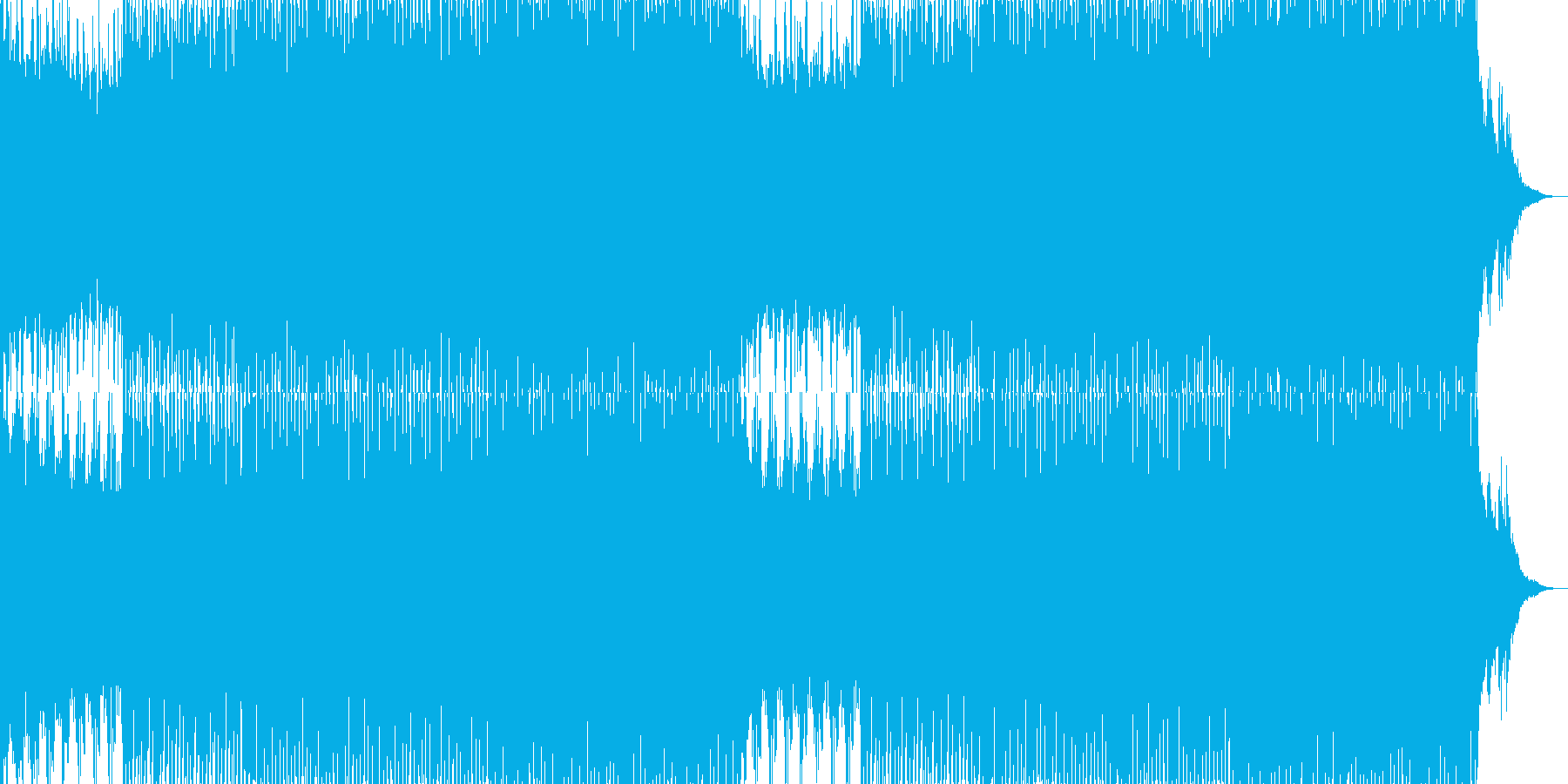 EDMポップで明るいクラブ系-98の再生済みの波形