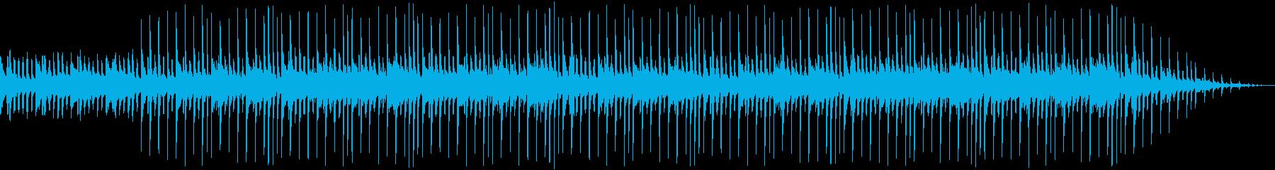 ポップでおしゃれなループ BGMの再生済みの波形