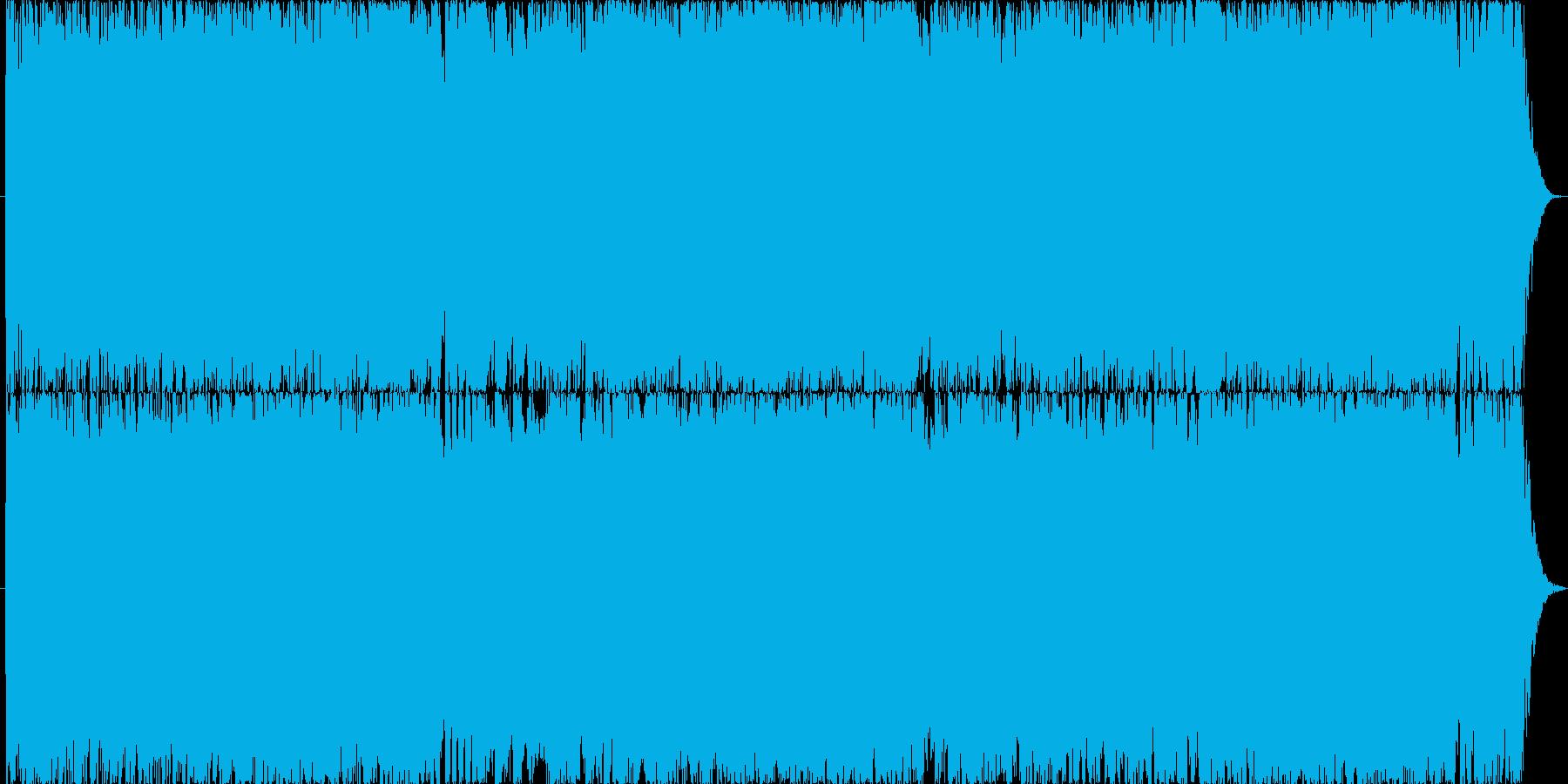 ダークファンタジーオーケストラ戦闘曲44の再生済みの波形