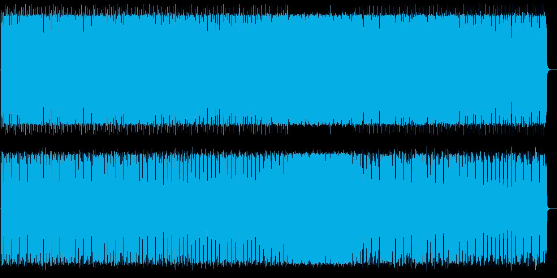 不思議で悠長なシンセテクノサウンドの再生済みの波形