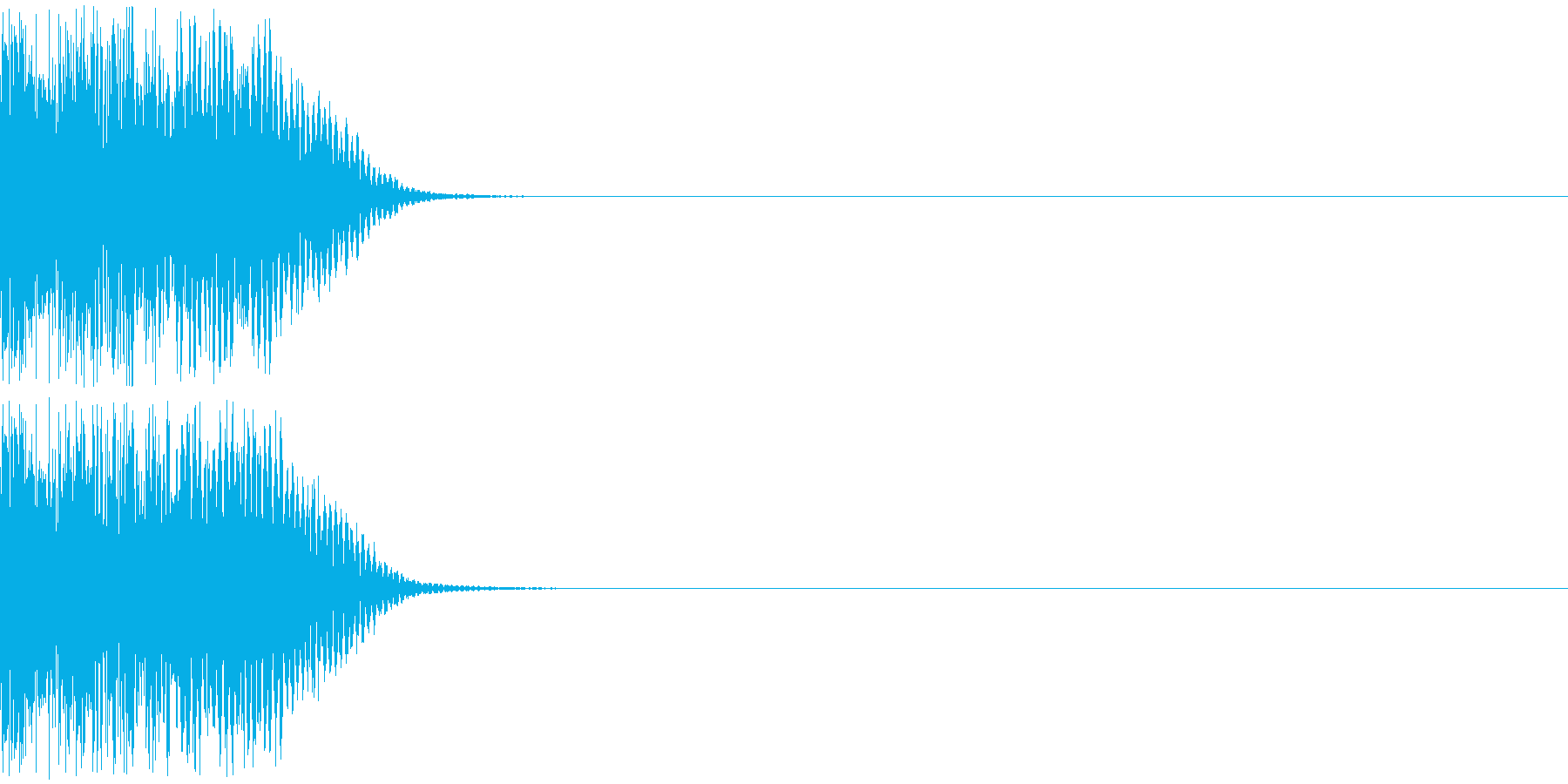 ズゴシの再生済みの波形