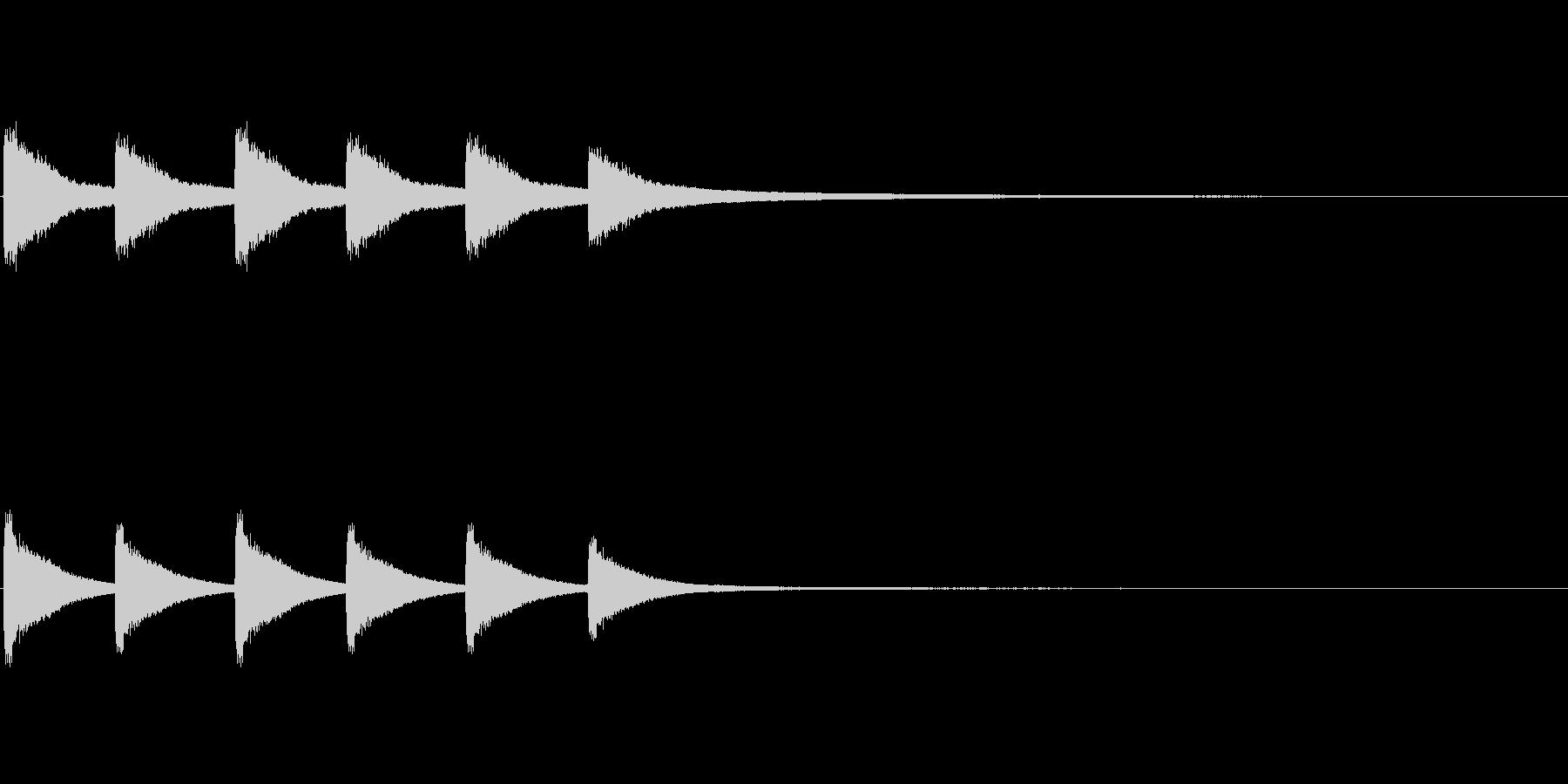 教会の鐘1 (ゴーン…ゴーン…)の未再生の波形