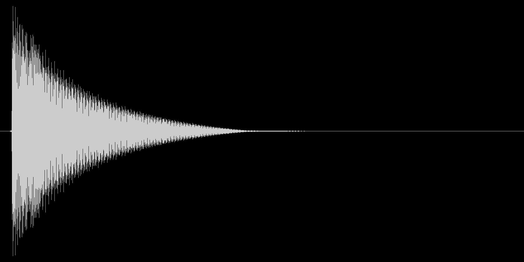 ピコン!(行動ターン、順番、合図)の未再生の波形