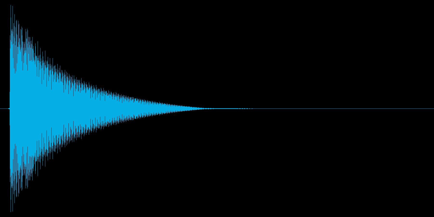 ピコン!(行動ターン、順番、合図)の再生済みの波形