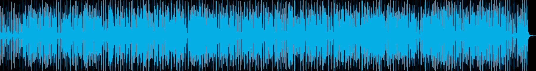 おしゃれで陽気なポップス音楽の再生済みの波形