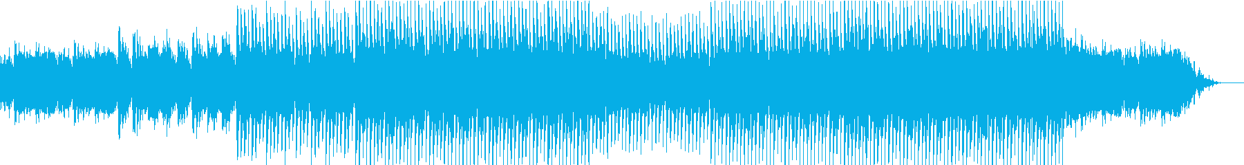 EDMメカニカル、テクノ、クラブ系-01の再生済みの波形