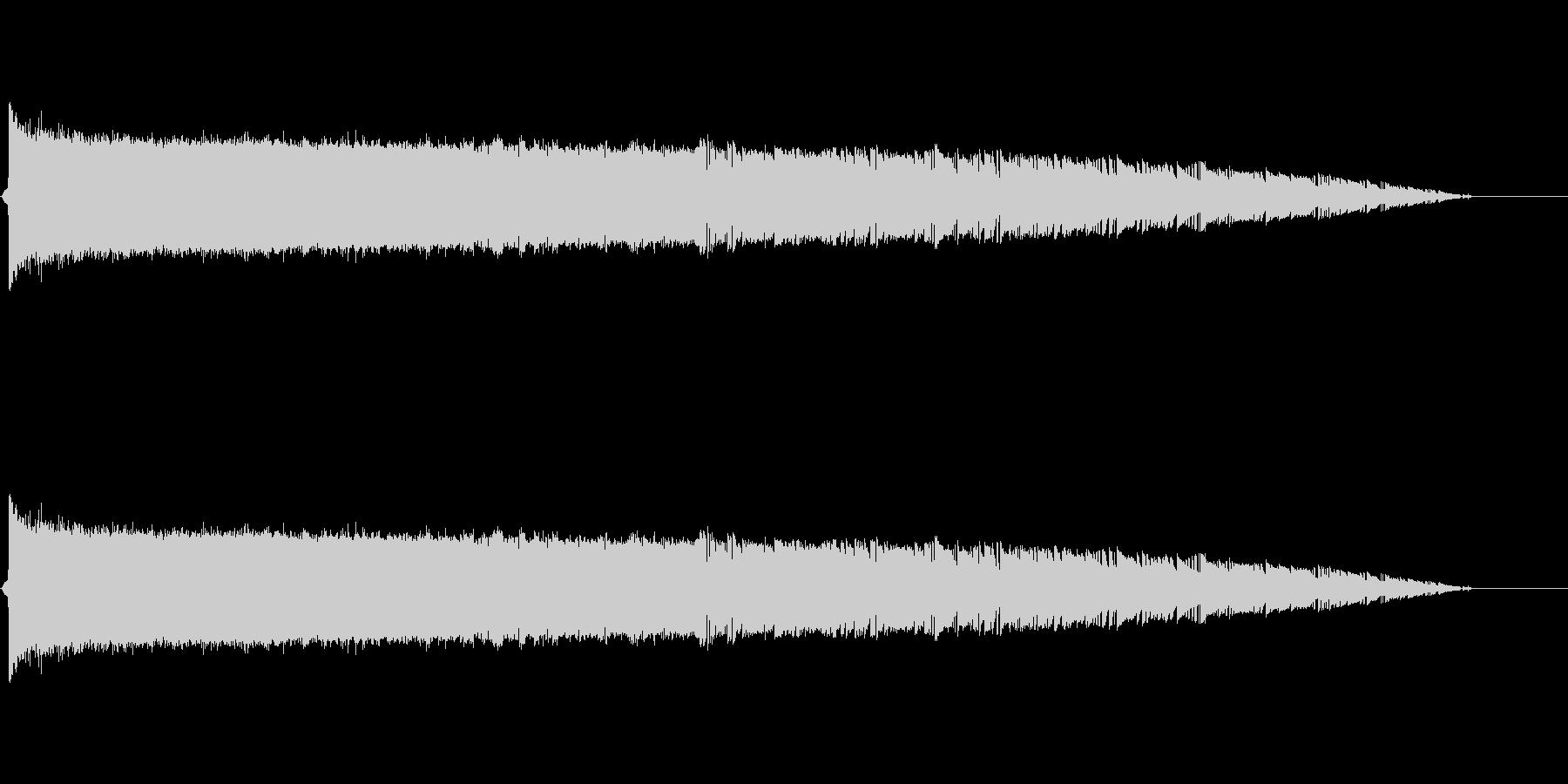 バシューン(ロケット打上げ、ミサイル)の未再生の波形