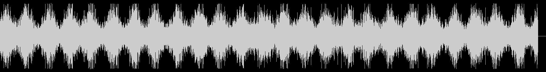 レーザーサーベルが放電しているイメージの未再生の波形