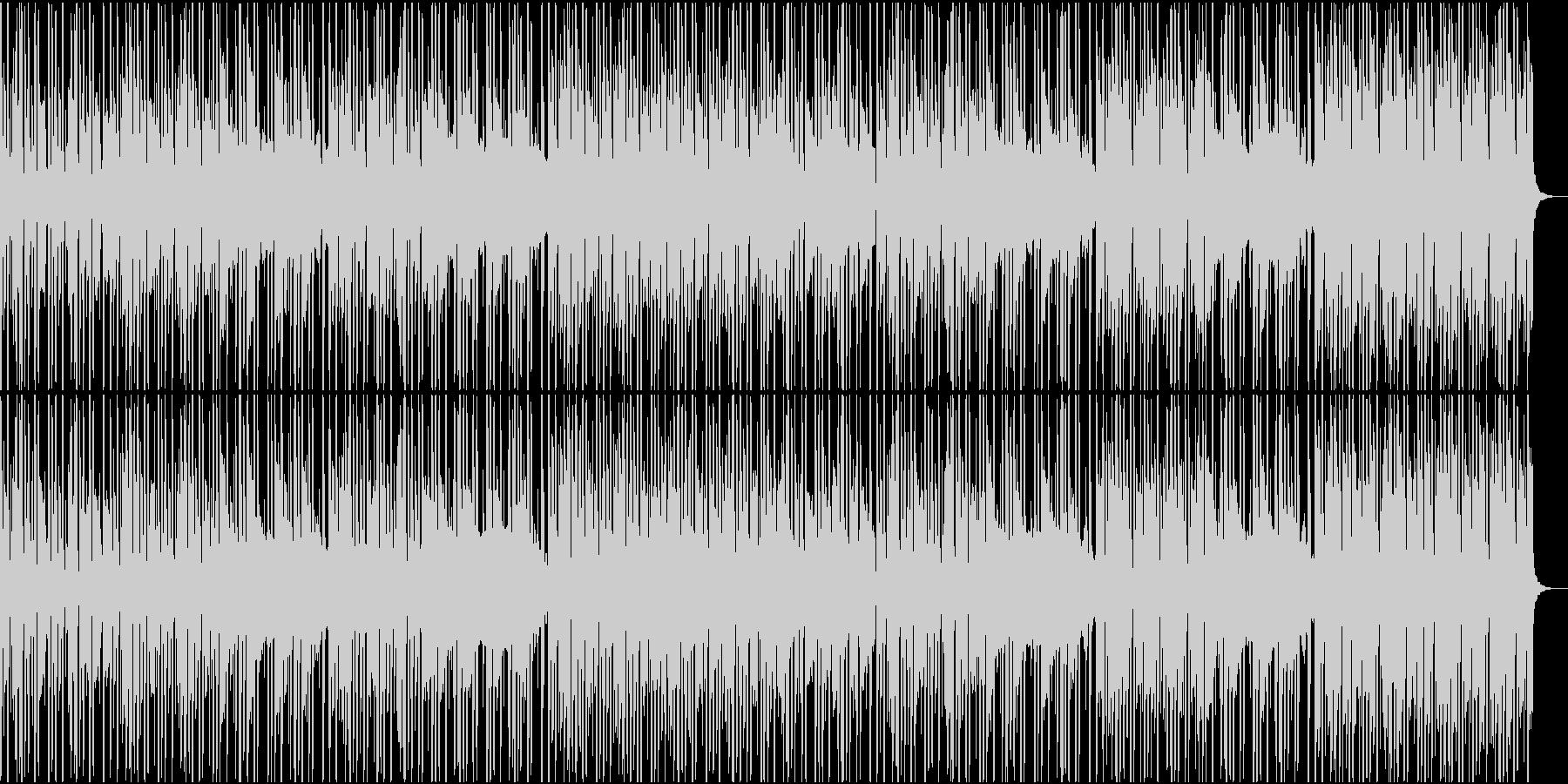 特にローファイ感の強いHiphopの未再生の波形