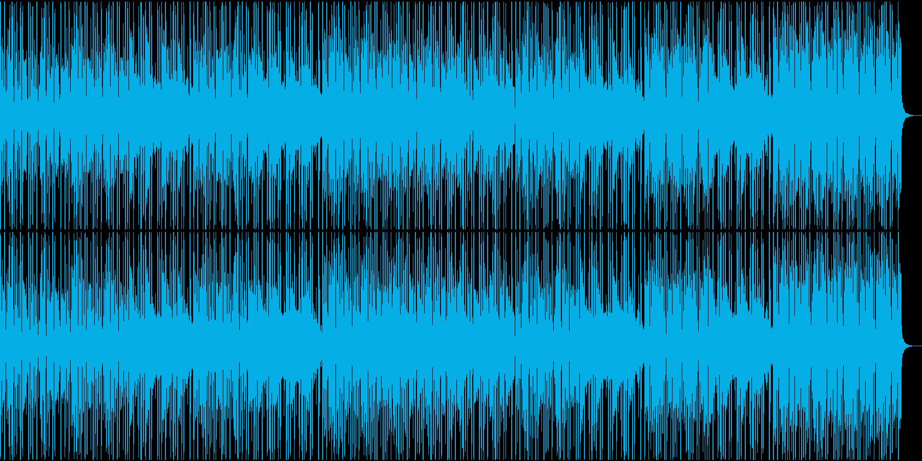 特にローファイ感の強いHiphopの再生済みの波形