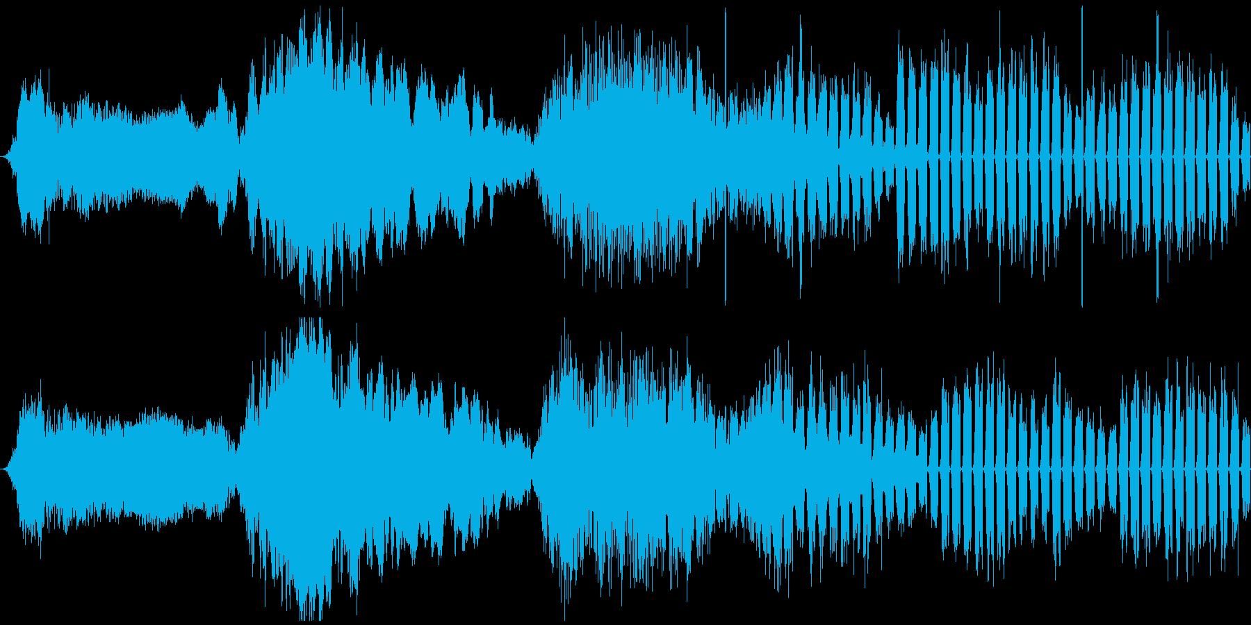 【ホラー/ファンタジー/ゲーム】の再生済みの波形