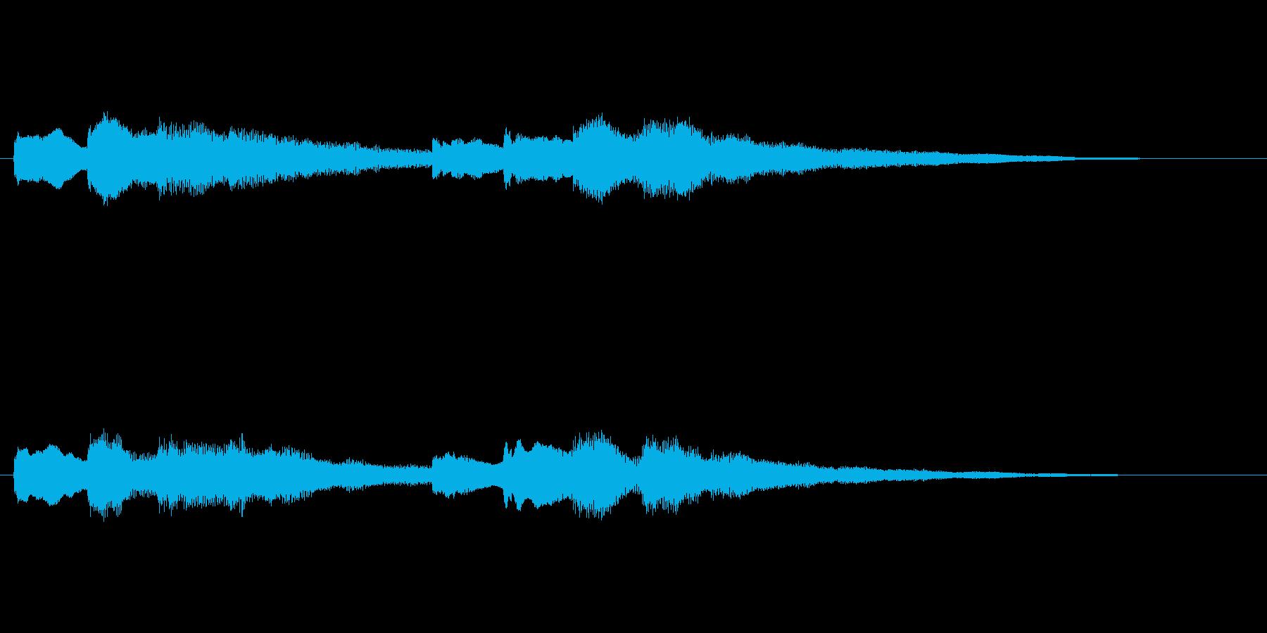 【チャイム 学校02-11】の再生済みの波形