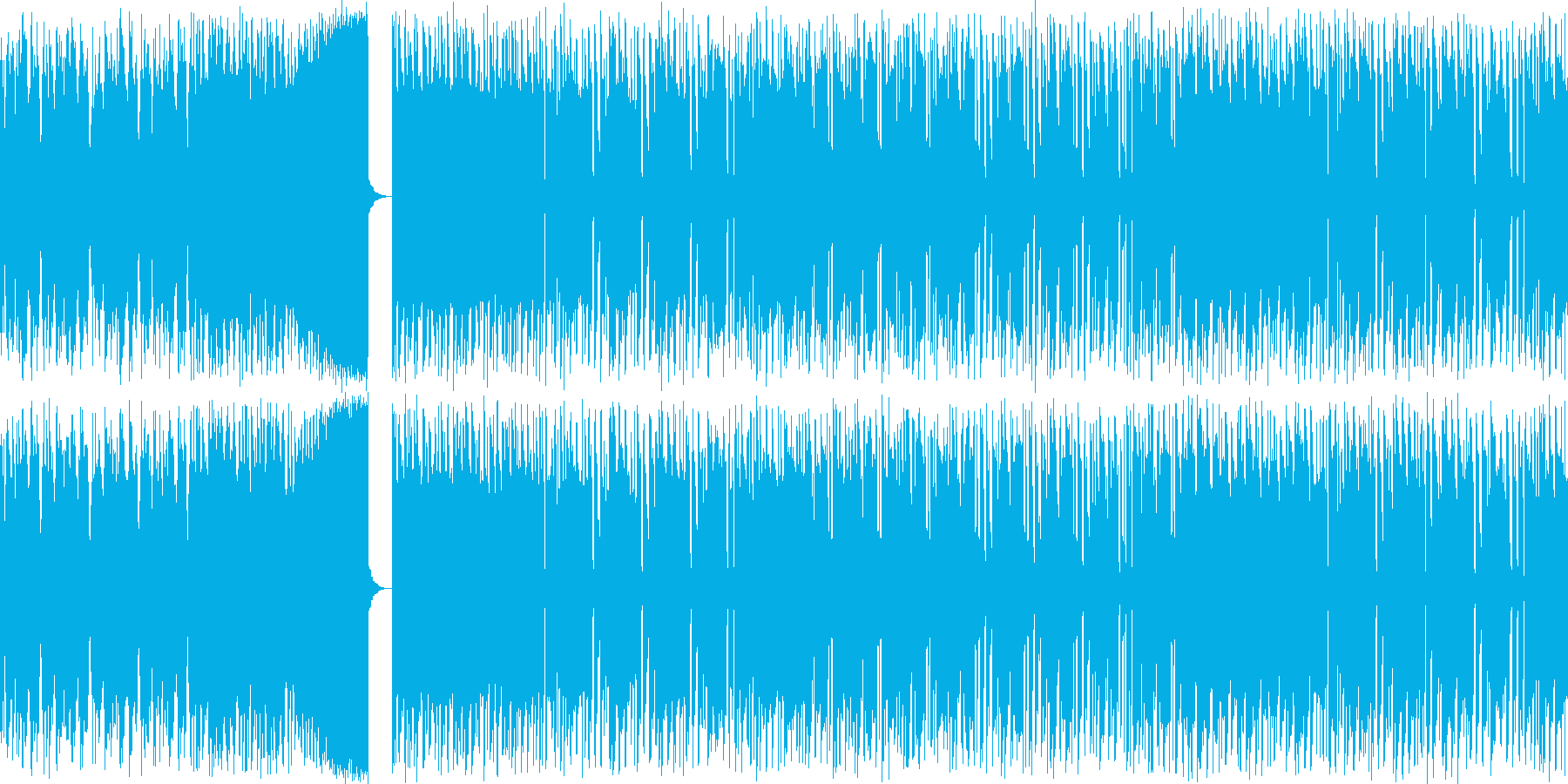 【チップチューン/ビルドアップ】の再生済みの波形
