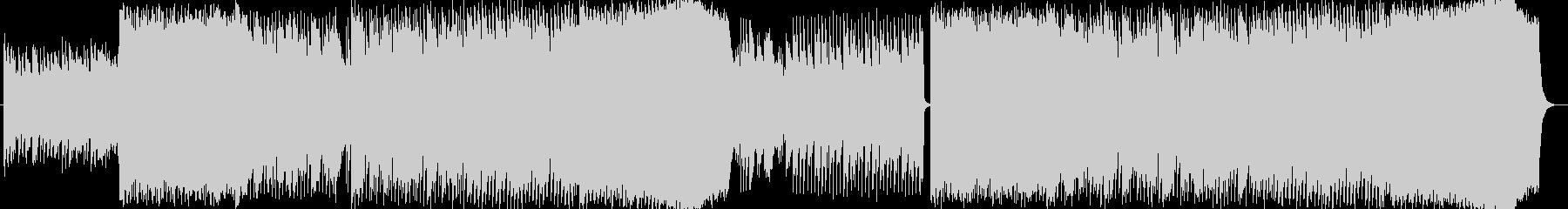 ナレーションのバックBGMや、ブランド…の未再生の波形