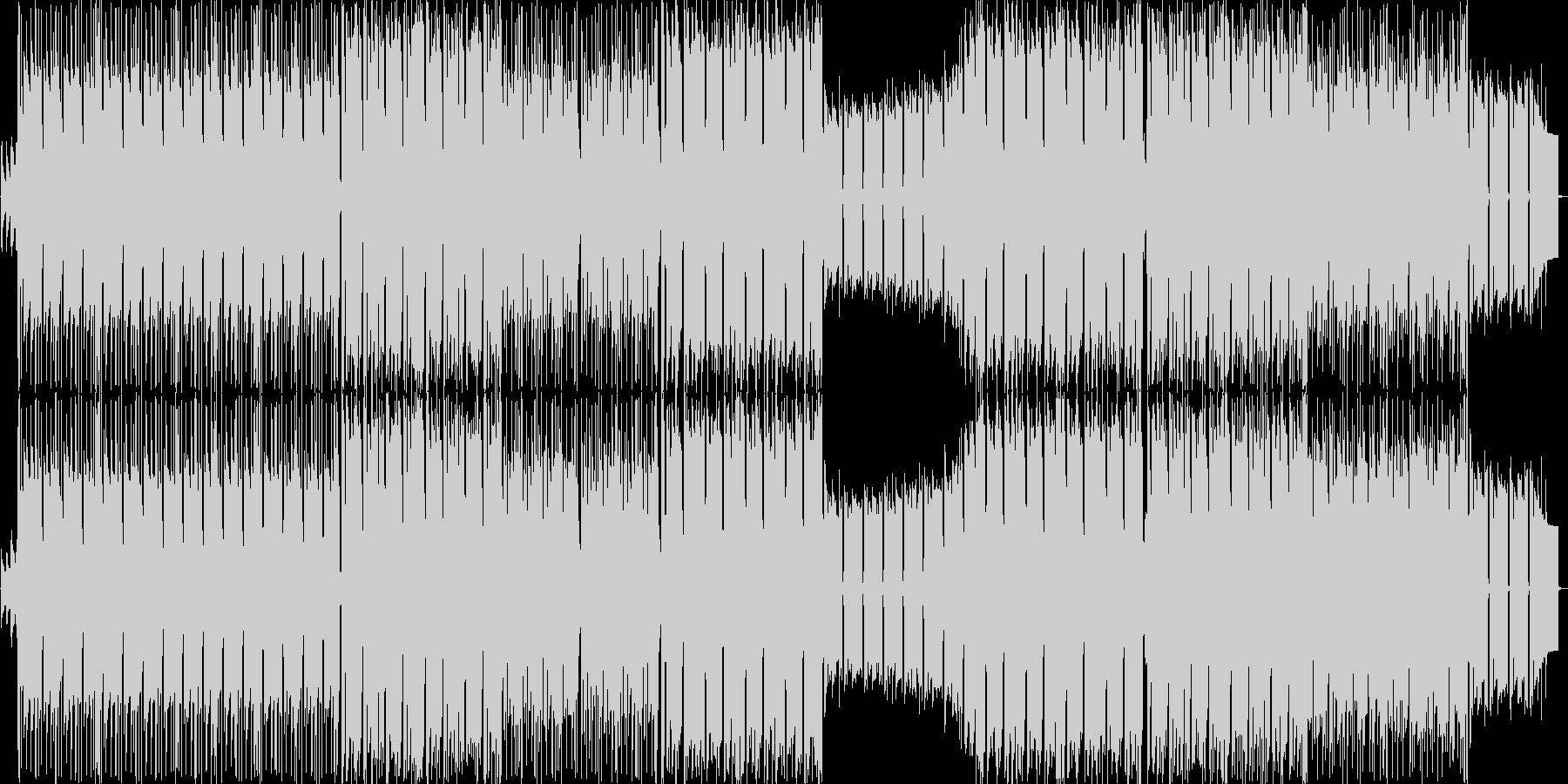 重低音の効いたシンセロックの未再生の波形