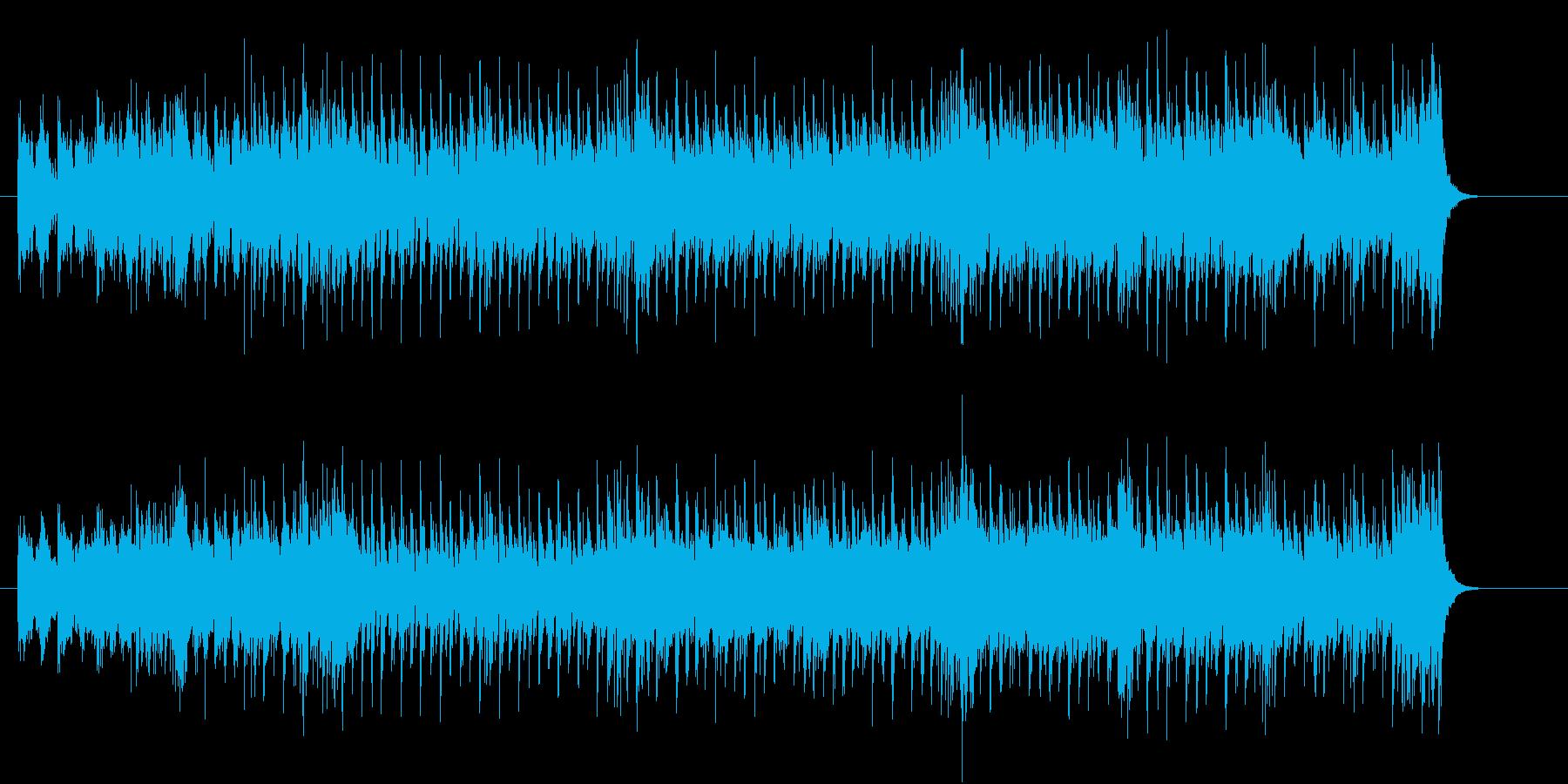 ピュアなダンス・ポップの再生済みの波形