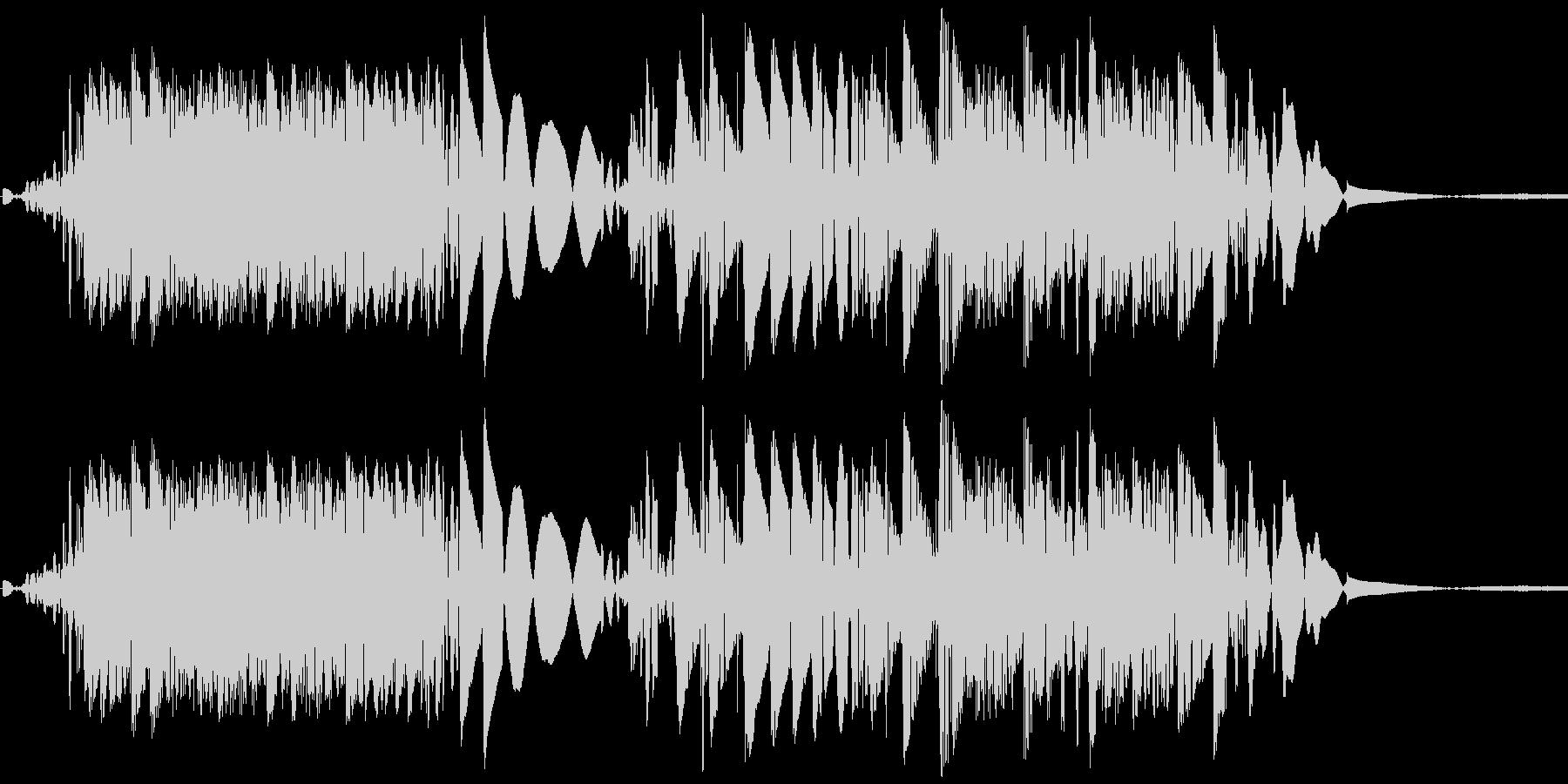 DJスクラッチの未再生の波形