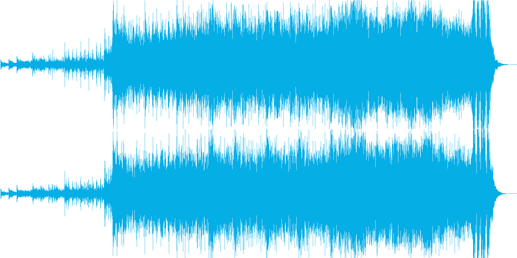 ワールドミュージック 1 Worldの再生済みの波形