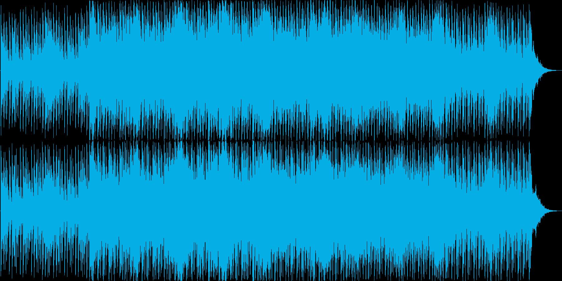 神秘的であやしげなファンタジー向き楽曲の再生済みの波形