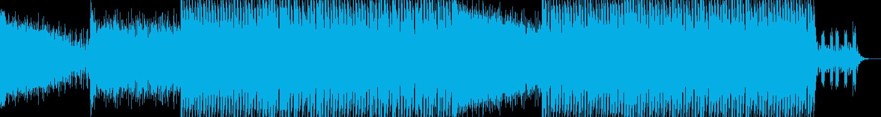 EDMクラブ系ダンスミュージック-79の再生済みの波形