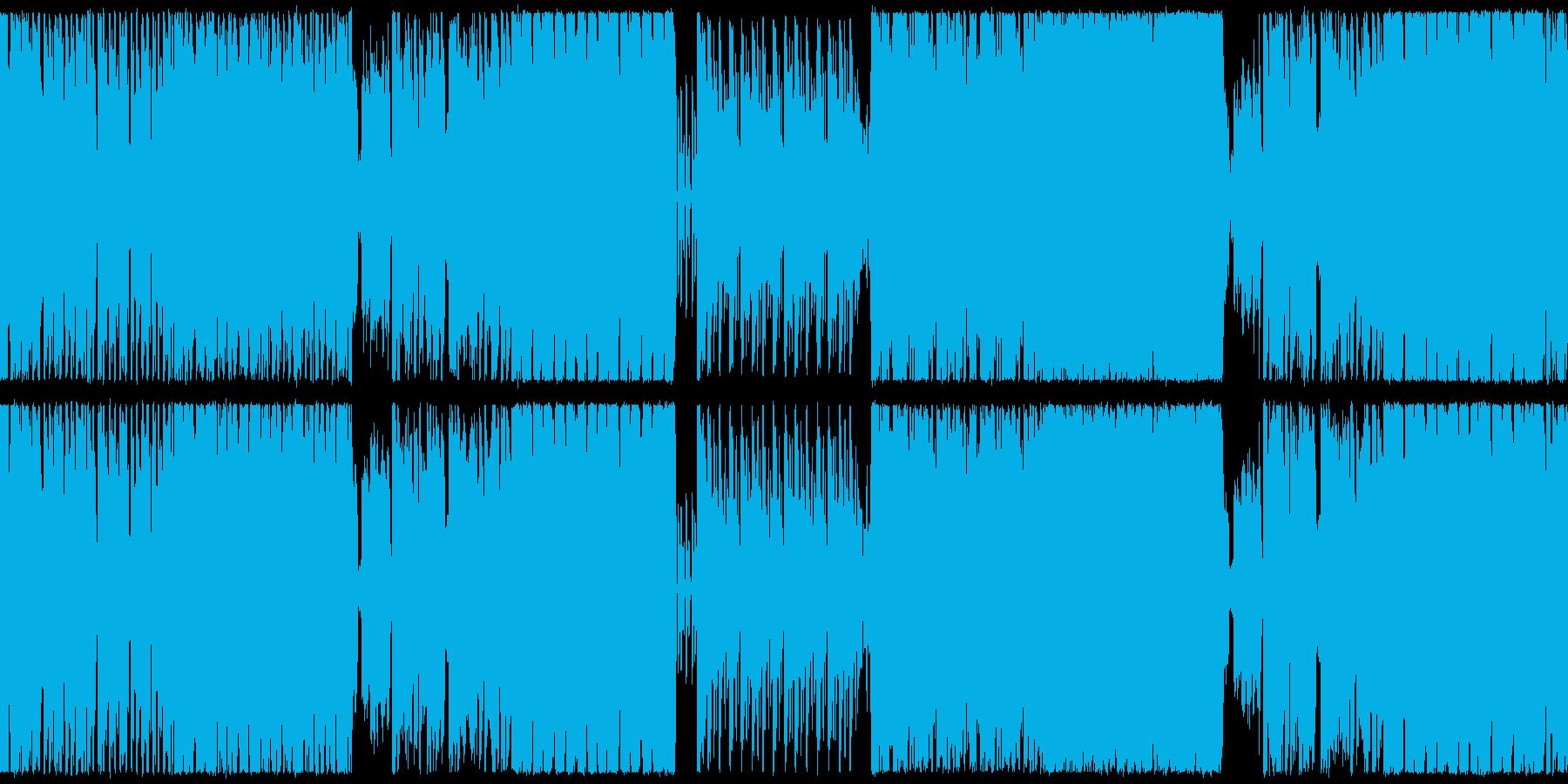 【ループ仕様】ファニー、疾走感なバトル曲の再生済みの波形