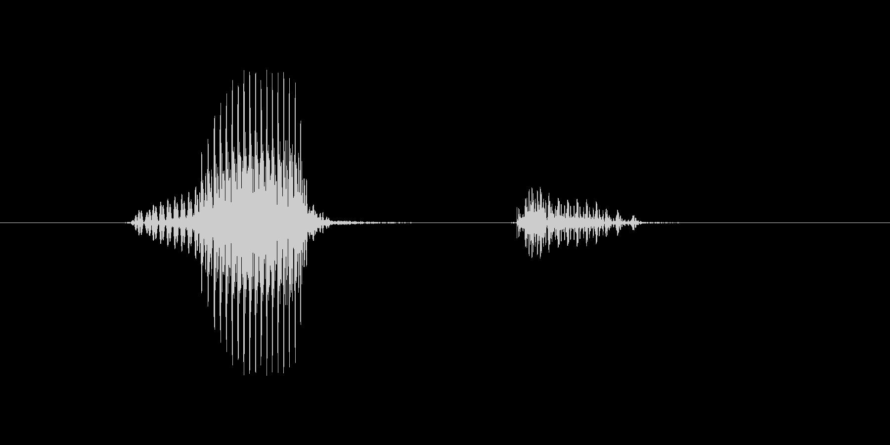 ネットの未再生の波形