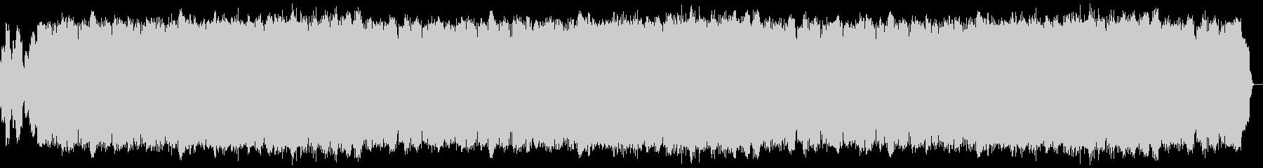 サックスとピアノ伴奏による綺麗なバラードの未再生の波形
