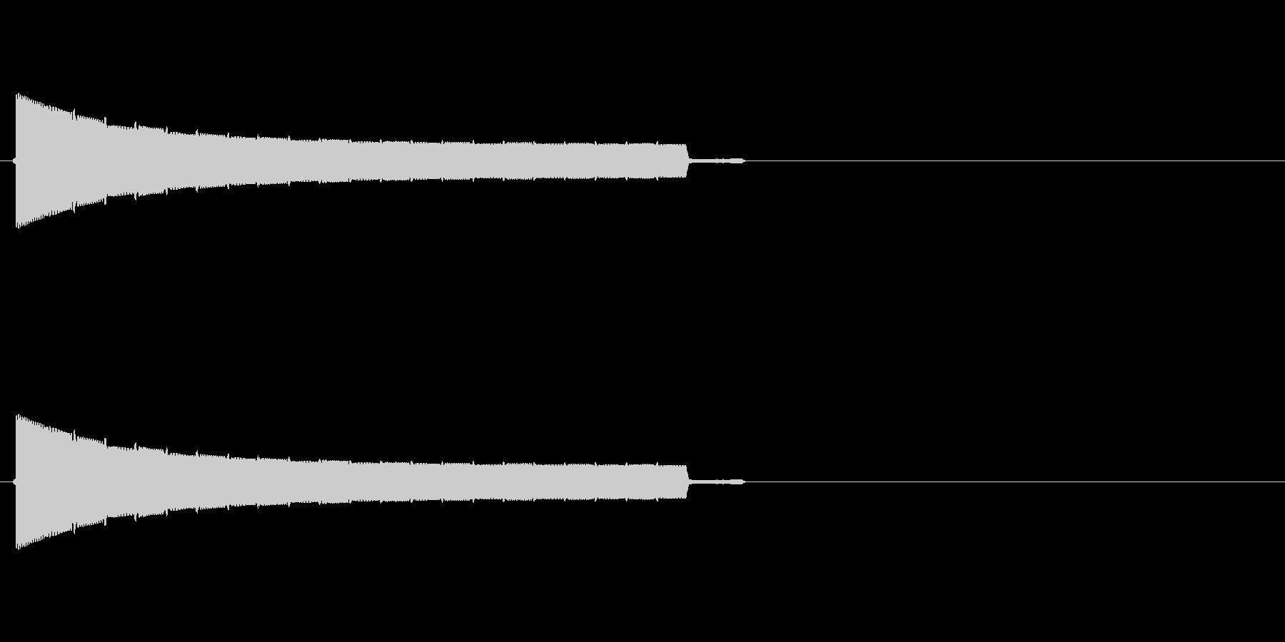 トゥルルルルルルの未再生の波形