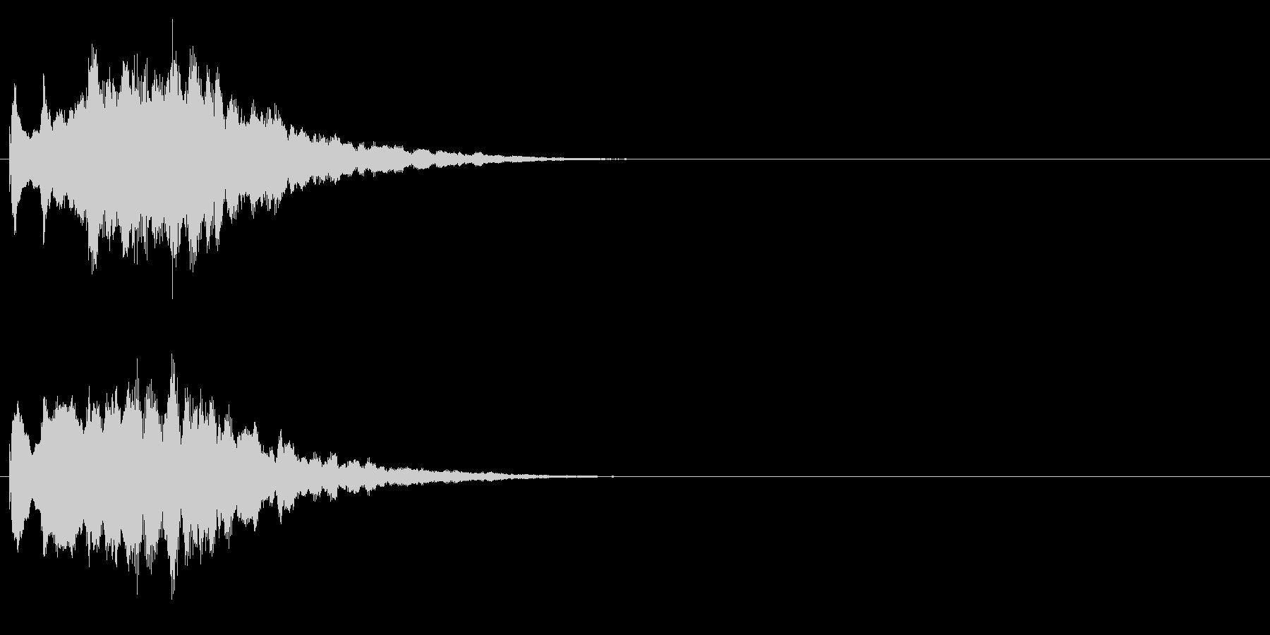 ジングル キラキラ系 その1の未再生の波形