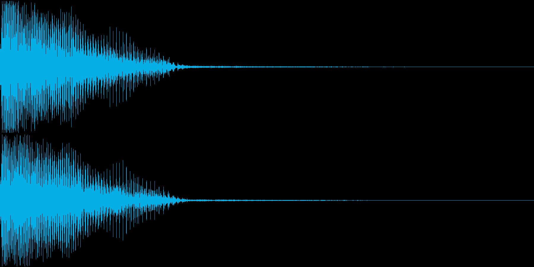 InvaderBuzz 発砲音 19の再生済みの波形
