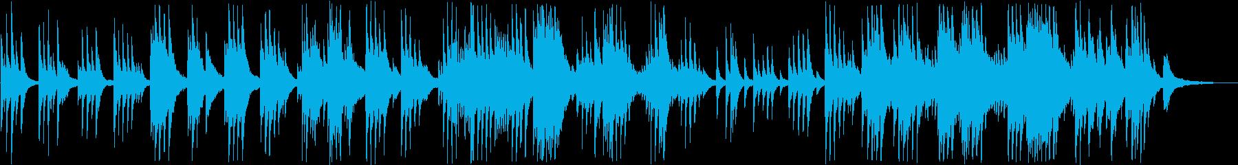 別れを彷彿させる音楽の再生済みの波形