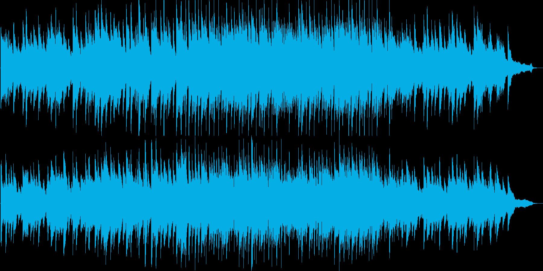 温かい・わくわく・ピアノ・イベント・映像の再生済みの波形
