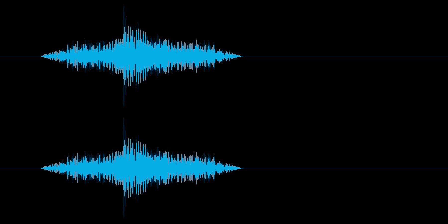 ジャン!リバースオケヒその3_音程低めの再生済みの波形
