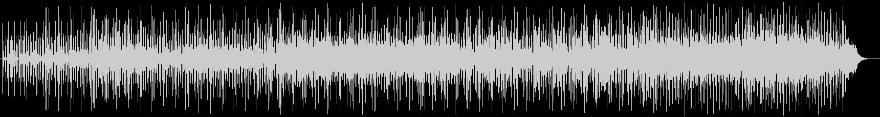 パーカッション中心のポップスの未再生の波形