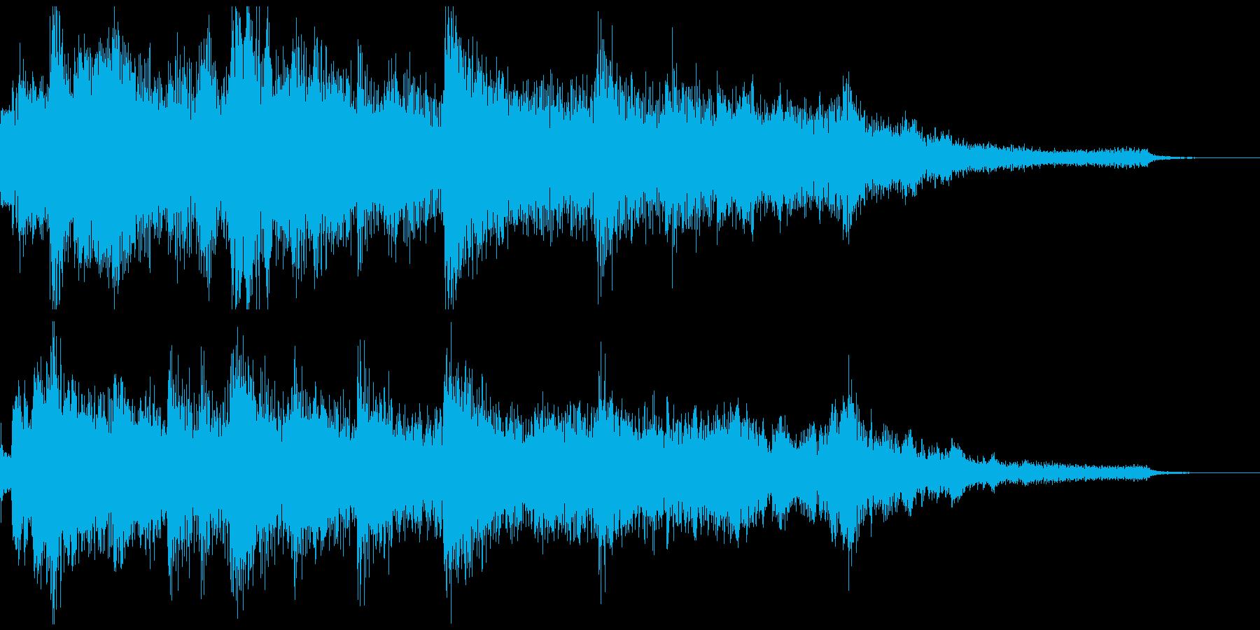 ゲームオーバー・戦闘不能 のジングルの再生済みの波形