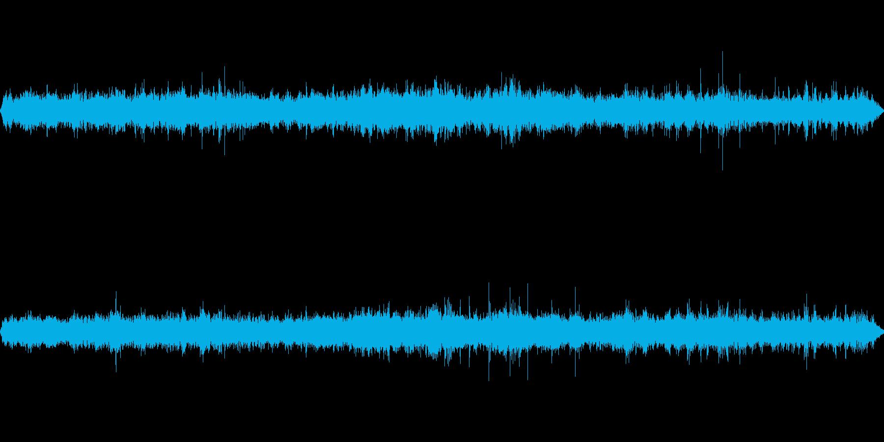 ターミナル駅 ざわめきの再生済みの波形
