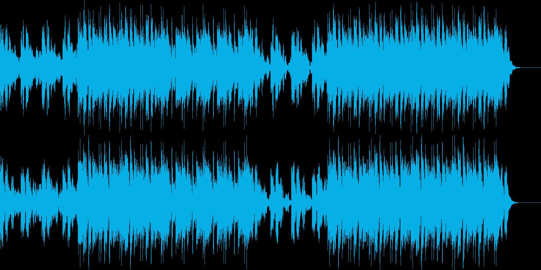 ボコーダー_デジタル2の再生済みの波形