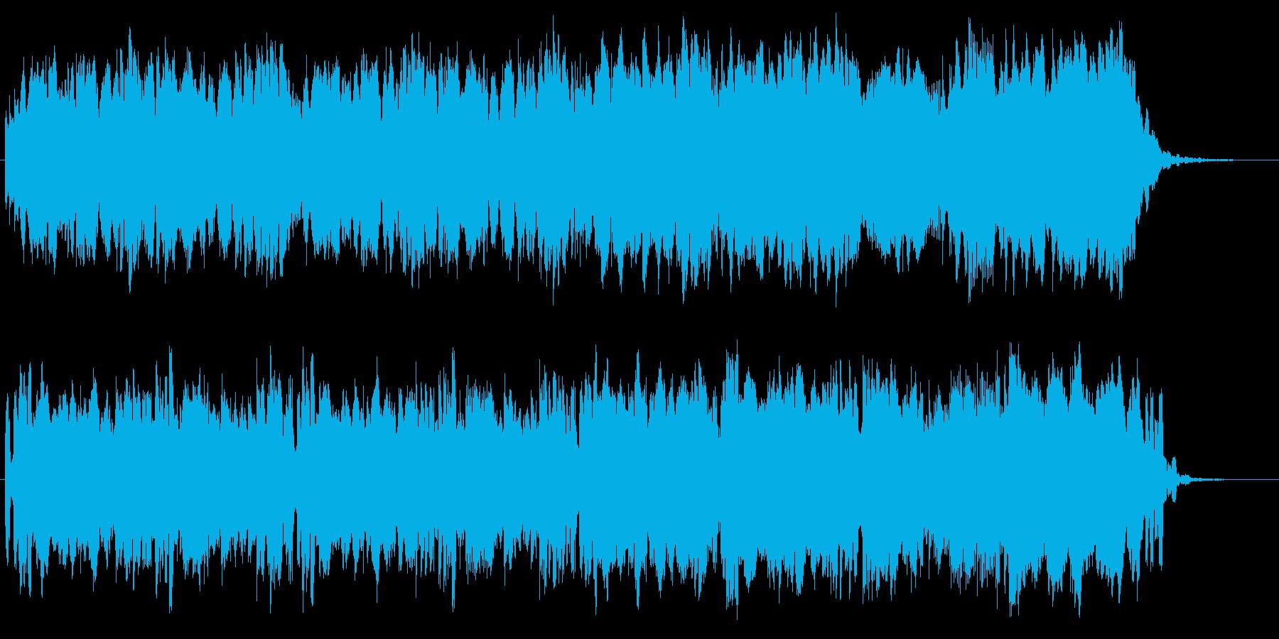 未来的、最先端を想像させるサウンド♪の再生済みの波形