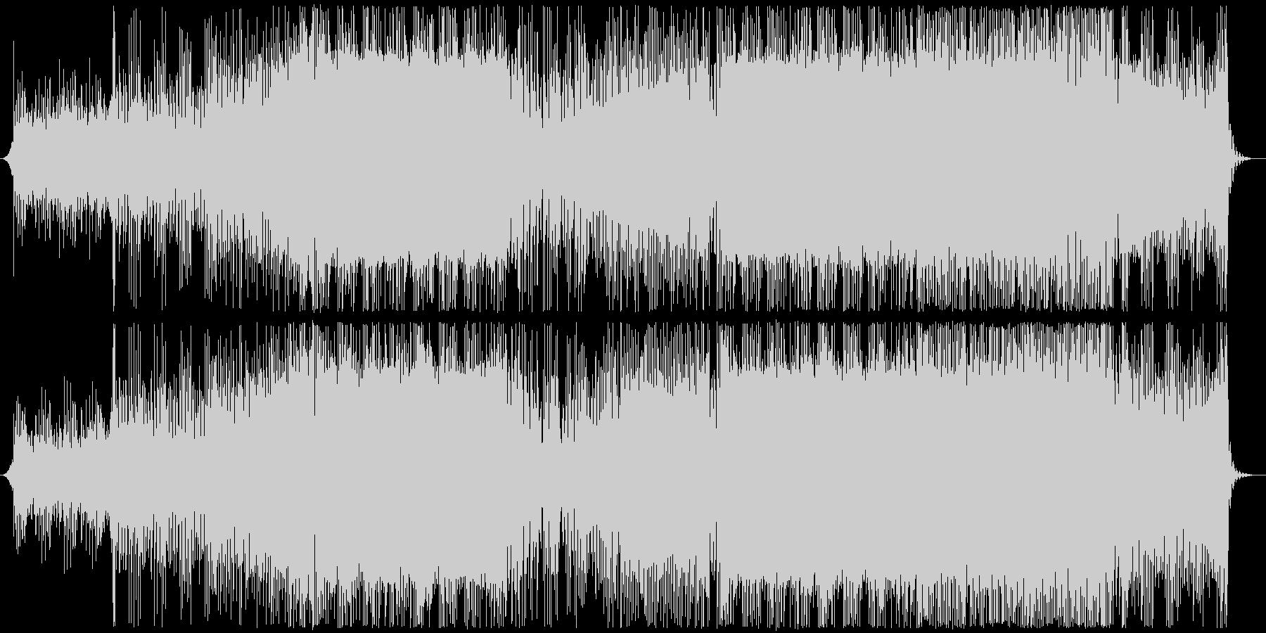 三味線ハウス-2、欧米から見た日本、夜の未再生の波形