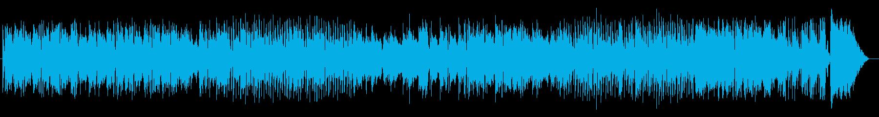 独特なベースラインの織りなすBGMの再生済みの波形