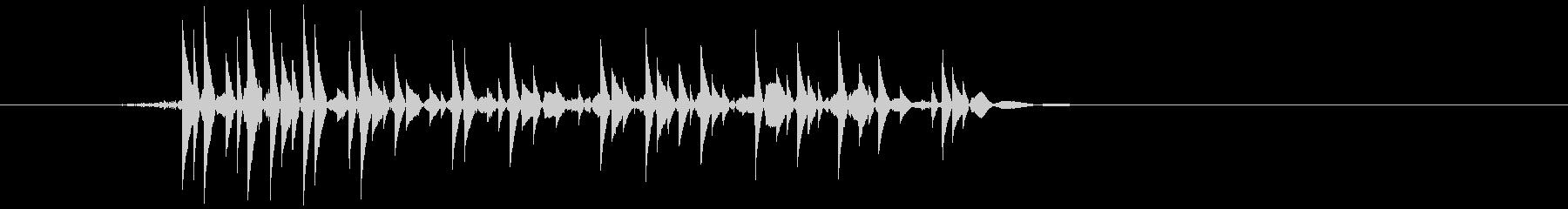 ゲーム(ファミコン風)爆発音_037の未再生の波形