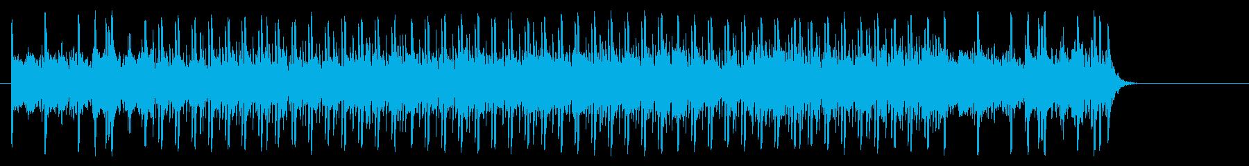 充実感溢れるポップ(イントロ~A~B…)の再生済みの波形