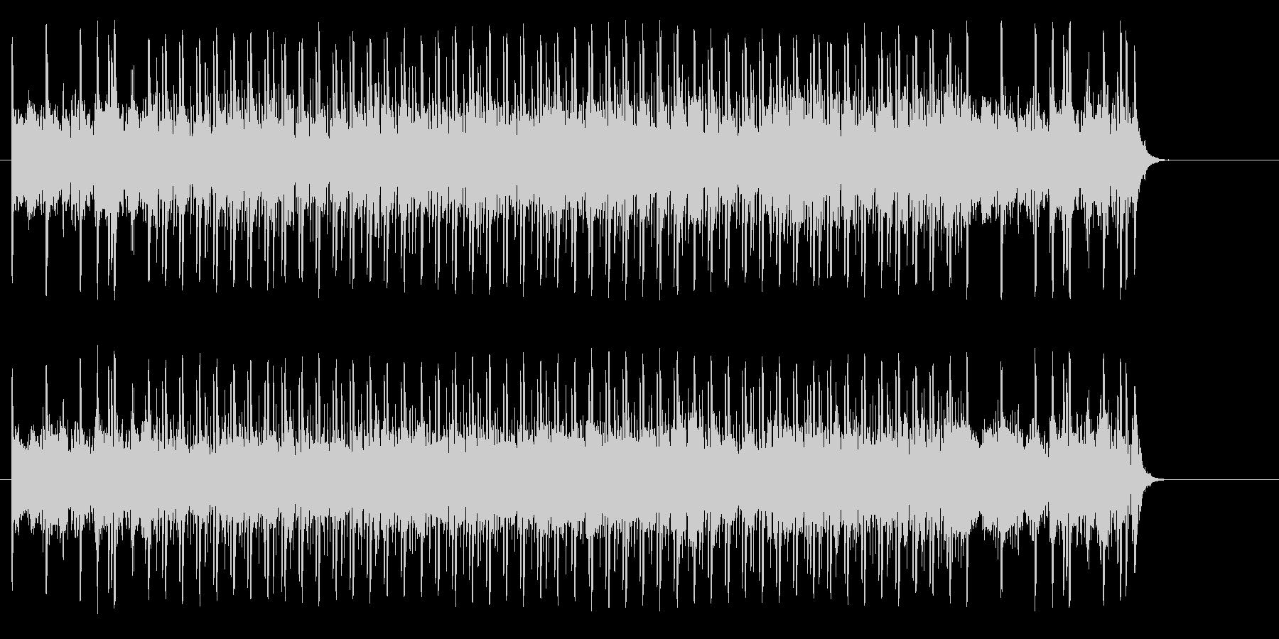 充実感溢れるポップ(イントロ~A~B…)の未再生の波形