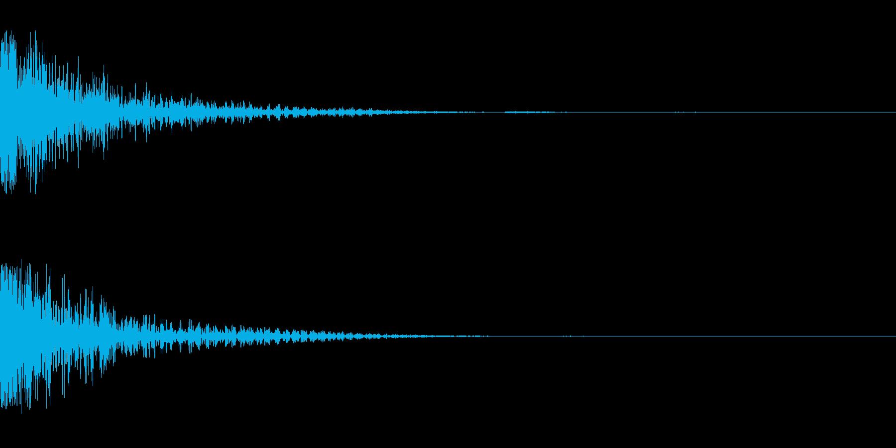 ジャン(インパクト)の再生済みの波形