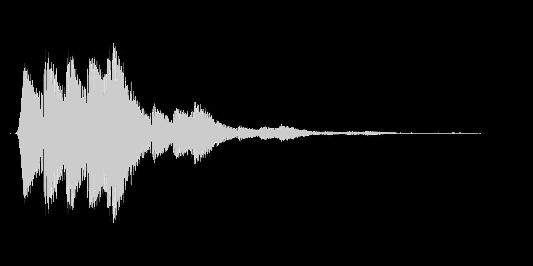 ファミコン風効果音 キャンセル系 01の未再生の波形