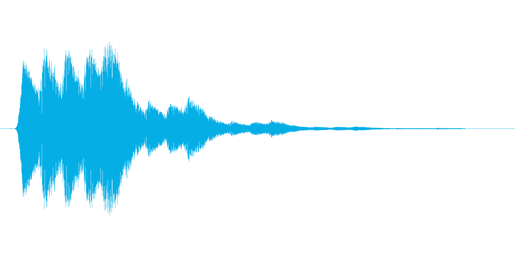 ファミコン風効果音 キャンセル系 01の再生済みの波形
