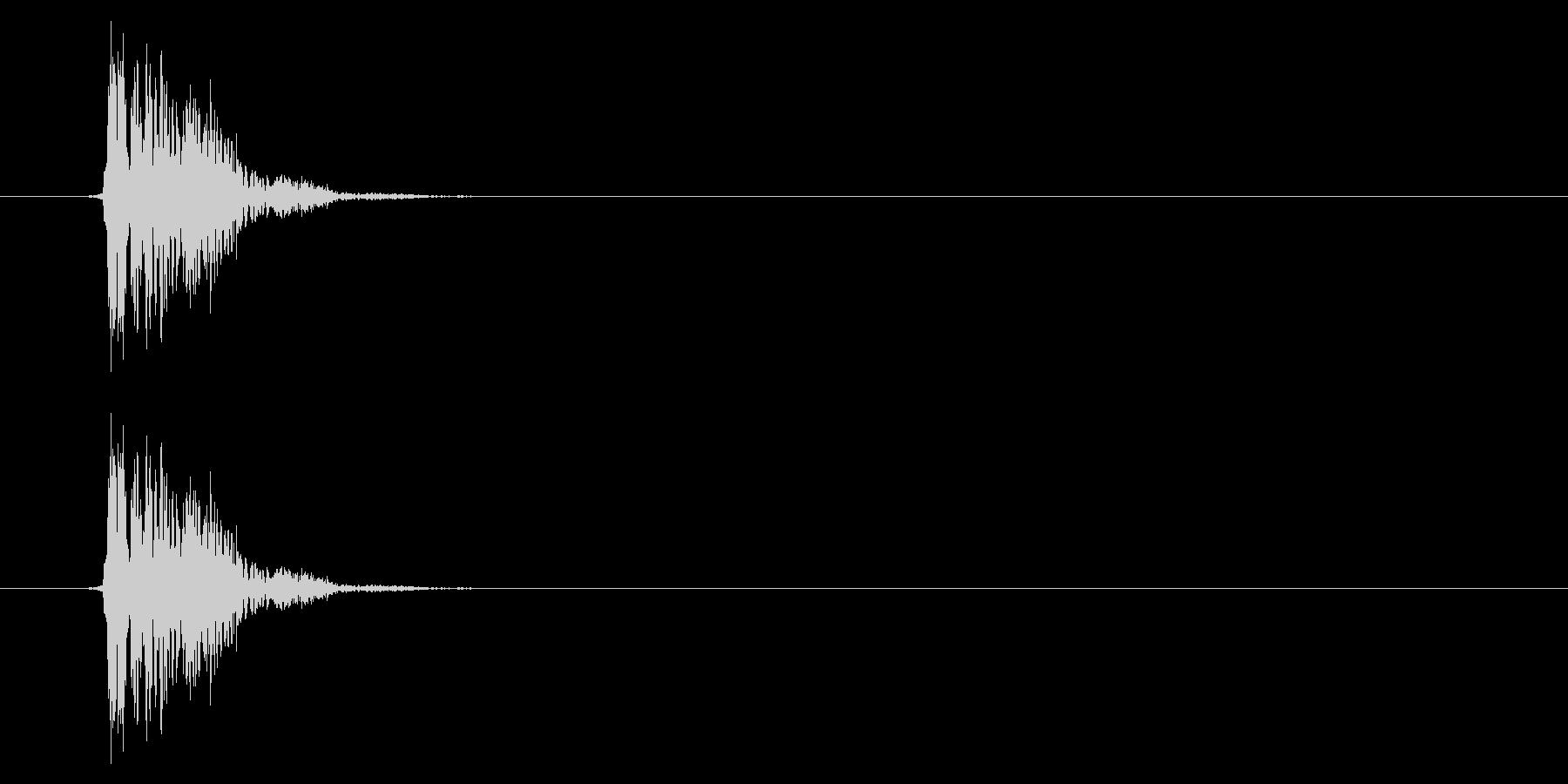 SNES 格闘05-03(ヒット)の未再生の波形